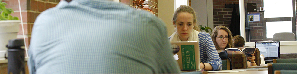 Students studying.